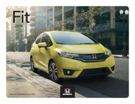 2015 Honda Fit Fact Sheet