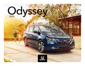2015 Honda Odyssey Fact Sheet
