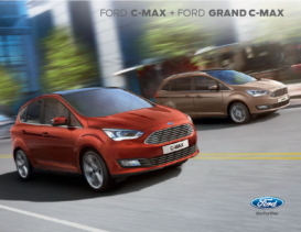 2016 Ford C-Max and Grand C-Max UK