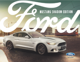 2017 Ford Mustang Night Shadow Edition UK