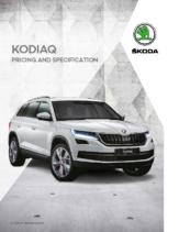 2018 Skoda Kodiaq Pricing-Specification