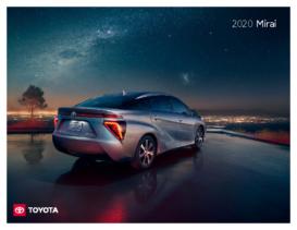 2020 Toyota Mirai Fuel Cell Tech