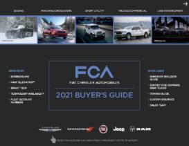 2021 FCA Fleet Buyers Guide