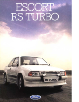 1985 Ford Escort RS Turbo UK