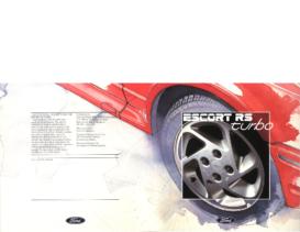 1986 Ford Escort RS Turbo UK