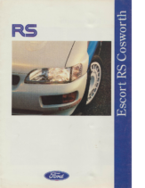 1992 Ford Escort RS Cosworth V1 UK