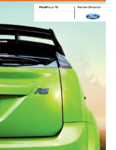 2009 Ford Focus RS UK