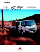 2012 Mitsubishi Fuso Canter FE160 Crew Cab Spec Sheet