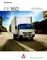 2012 Mitsubishi Fuso Canter FE160 Spec Sheet