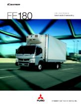 2012 Mitsubishi Fuso Canter FE180 Spec Sheet