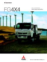 2012 Mitsubishi Fuso Canter FG4X4 Spec Sheet
