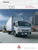 2013 Mitsubishi Fuso Canter FE125 Spec Sheet
