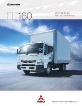 2013 Mitsubishi Fuso Canter FE160 Spec Sheet
