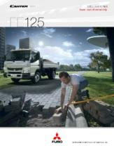 2014 Mitsubishi Fuso Canter FE125 Spec Sheet