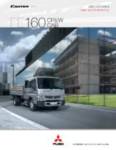 2014 Mitsubishi Fuso Canter FE160 Crew Cab Spec Sheet