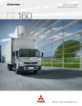 2014 Mitsubishi Fuso Canter FE160 Spec Sheet