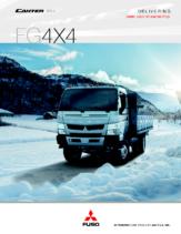 2014 Mitsubishi Fuso Canter FG4X4 Spec Sheet