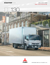 2015 Mitsubishi Fuso Canter FE130 Spec Sheet