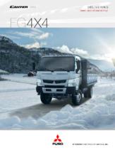 2015 Mitsubishi Fuso Canter FG4X4 Spec Sheet