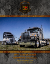 2017 Western Star 50th Anniversary Graphics Package