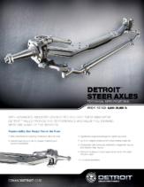 2017 Western Star Detroit Steer Axle Spec Sheet