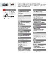 2018 Western Star 5700 XE Tech Sheet