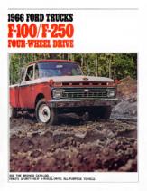 1966 Ford F-100 & F-250 4WD Trucks (Rev)