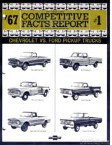 1967 Chevrolet vs Ford Trucks Facts