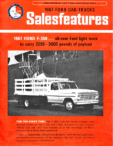1967 Ford F-350 Sales Features