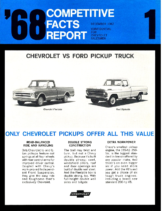 1968 Chevrolet vs Ford Pickup Facts