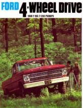 1968 Ford 4WD Trucks