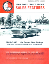 1968 Ford F-100 Sales Features