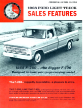 1968 Ford F-250 Sales Features