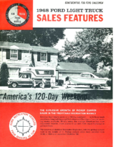 1968 Ford Pickup Camper Sales Features