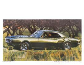 1968 Pontiac Posters