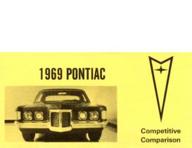 1969 Pontiac Competitive Comparison Booklet