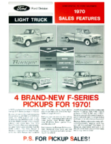 1970 Ford Light Truck Sales Features