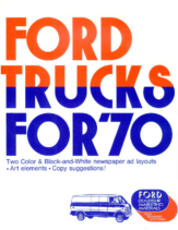 1970 Ford Truck Ad Clipart Book