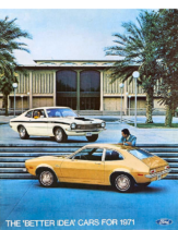 1971 Ford Cars Mailer