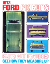 1973 Ford Truck Facts & Figures Mailer