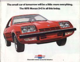 1975 Chevrolet Monza Intro