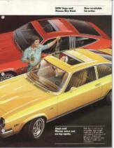 1976 Chevrolet Monza & Vega Sky Roof