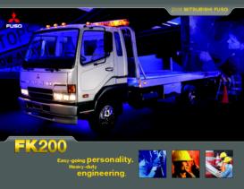 2005 Mitsubishi Fuso FK200