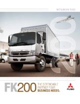 2008 Mitsubishi Fuso FK200