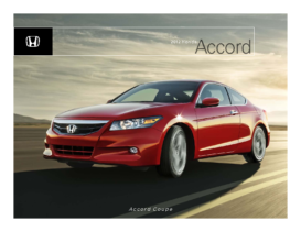 2012 Honda Accord Coupe Factsheet