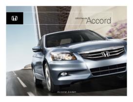 2012 Honda Accord Sedan Factsheet