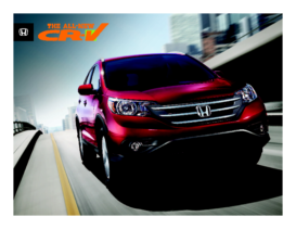 2012 Honda CR-V Factsheet