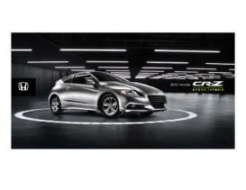 2012 Honda CR-Z Factsheet
