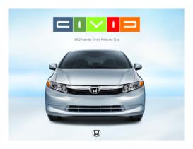 2012 Honda Civic Natural Gas Factsheet