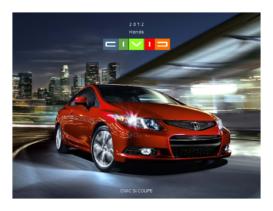 2012 Honda Civic SI Coupe Factsheet